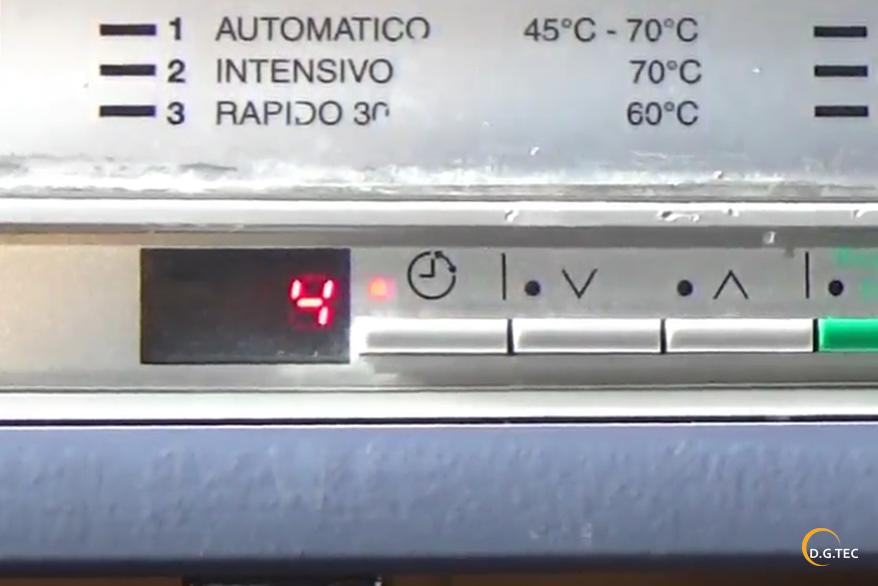 Allarmi lavastoviglie Rex
